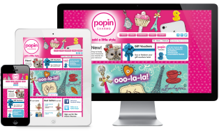 We Build Shopify Websites: The Popin Charms Case Study
